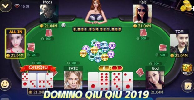 Cara Bermain Domino Qiu Qiu Online