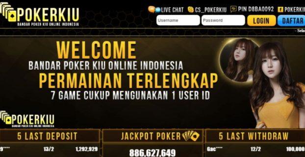 PokerKiu Bandar Domino Online Terpercaya di Indonesia